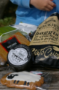A very Scottish picnic.
